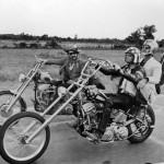 Questo é un ottimo esempio per i nostri Quadri: i tre protagonisti del famoso film Easy Rider.