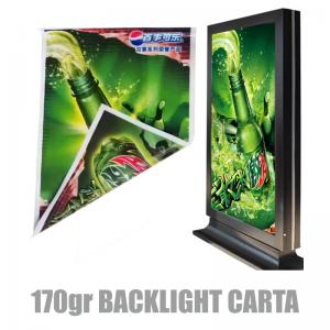 Questo é il magnifico effetto che la  Carta Black-Lit 170 Gr per Retroilluminabili riesce a rendere!