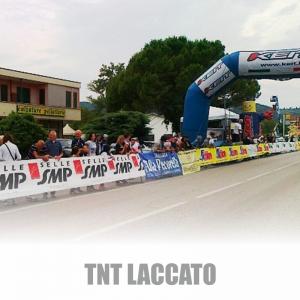 Questa immagine fa vedere come il TNT Laccato sia ottimo per inserire in un'unica stampa più sponsor!