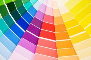 campioni di colore realizzabili con la stampa digitale