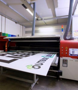 esempio di cartello con stampa diretta 360dpi