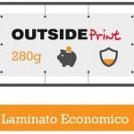 Questa grafica rappresenta alcune lavorazioni dello STRISCIONE 280g LAMINATO ECONOMICO