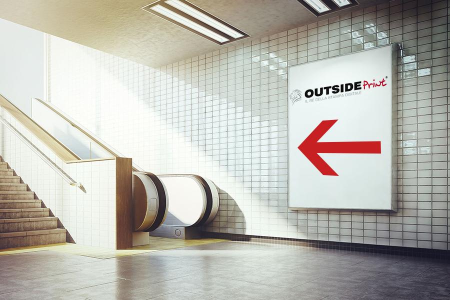 manifesto pubblicitario online
