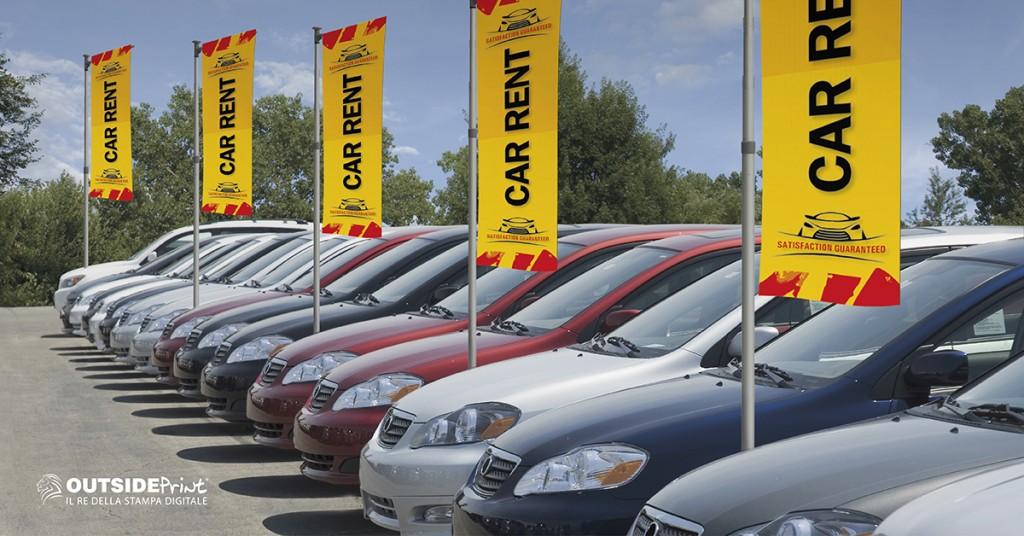 Espositore Car Flag