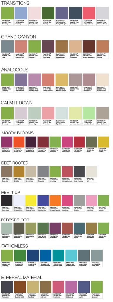 greenery-palette-pantone