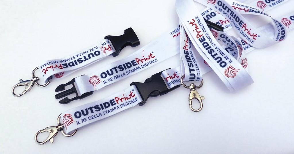 laccetti porta badge personalizzati