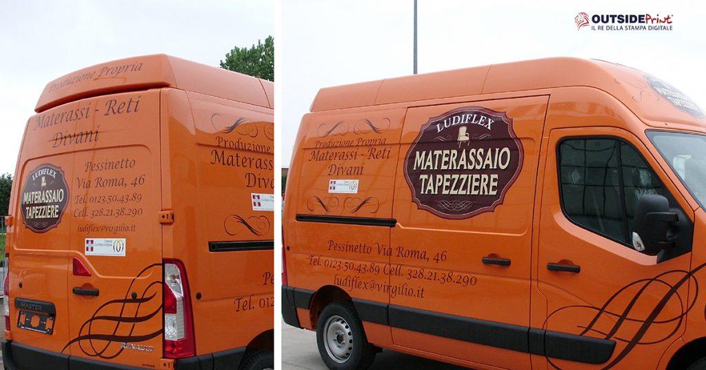 adesivi per furgoni