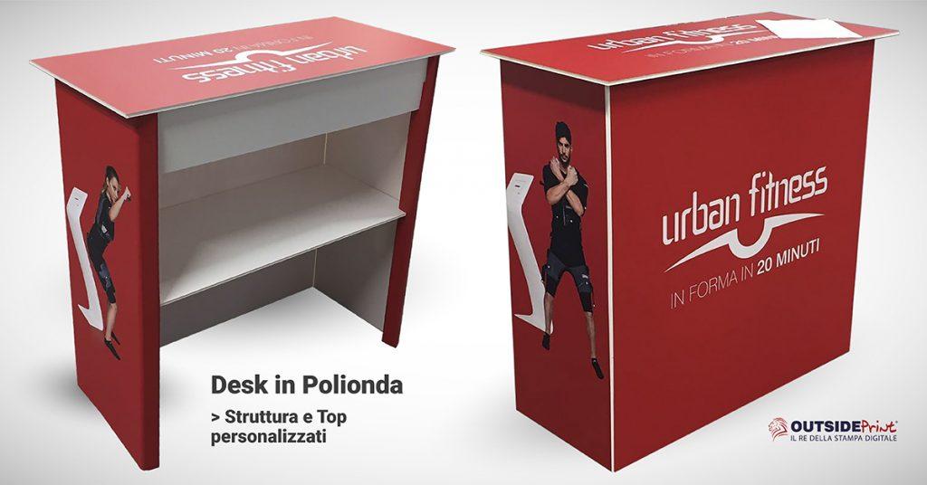 desk promozionale polionda