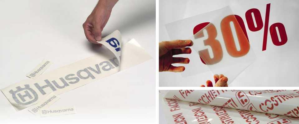 adesivi per scritte