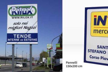 cartello pubblicitario online